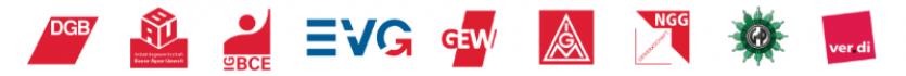 DGB Region München mit Gewerkschaften